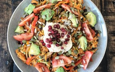 CARROT AND COURGETTE HASH