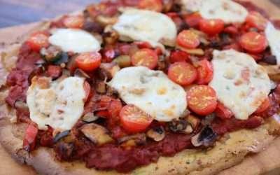 CHICKPEA & POTATO PIZZA BASE